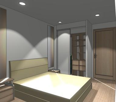 Эскиз шкафа в спальню