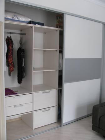 Заполнение шкафа
