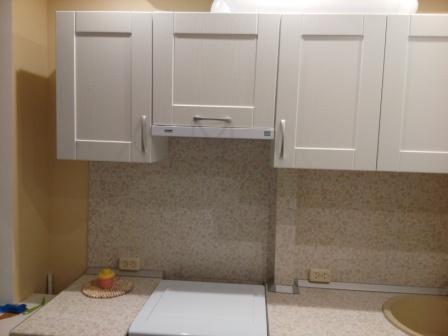Кухня шкаф над плитой