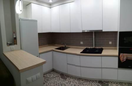 Кухня угловая панорама