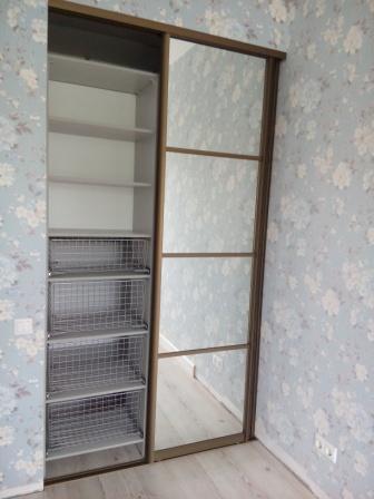 Мини-гардеробная в спальню