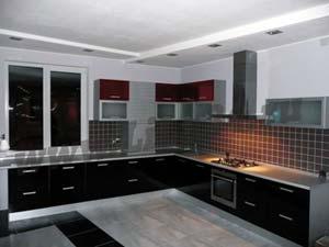Кухня в стиле Хай-тек Волжский.