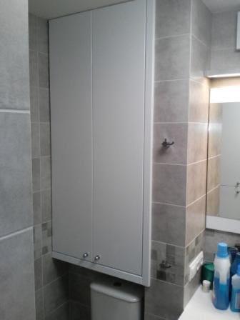 Встроенный шкаф в ванную на заказ