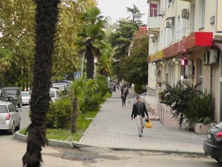 Хоста-улица Октября