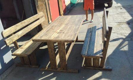 Брашированная мебель сосна