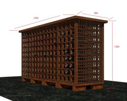 Изготовление бутылочниц для вина в Волжском