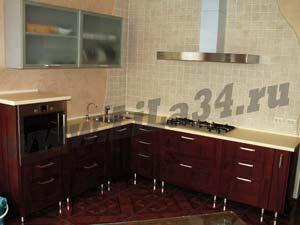просмотр фотографий и эскизов по этой кухне