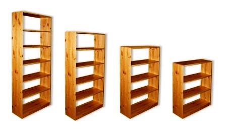 Деревянные стеллажи для балкона