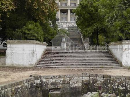 Бывший фонтан в санатории Волна