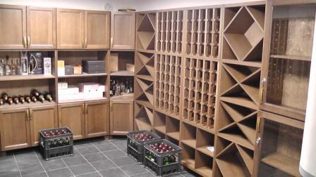 Решетка для хранения вина